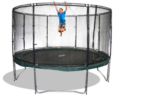 sicherheitsnetz megaair f r trampoline 370 cm trampoline von jumpmax g nstige. Black Bedroom Furniture Sets. Home Design Ideas
