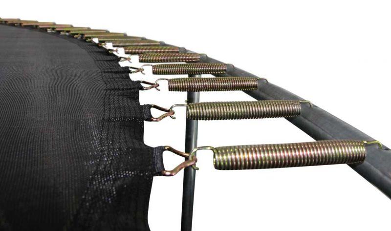 trampolin set air 370 mit sicherheitsnetz trampoline von. Black Bedroom Furniture Sets. Home Design Ideas