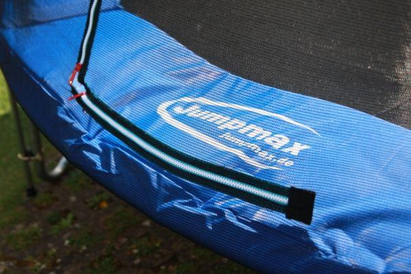 riesentrampolin superair 460 mit sicherheitsnetz und leiter trampoline von jumpmax g nstige. Black Bedroom Furniture Sets. Home Design Ideas
