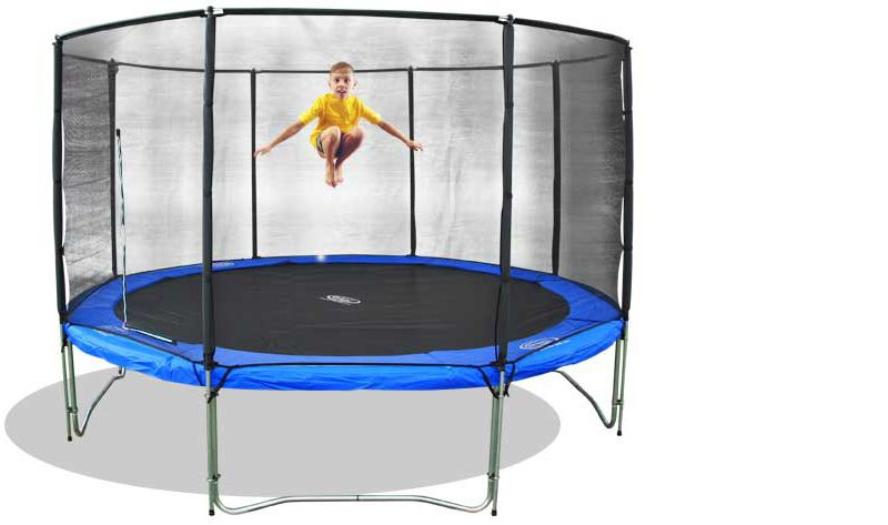 trampolin set superair 310 mit sicherheitsnetz. Black Bedroom Furniture Sets. Home Design Ideas