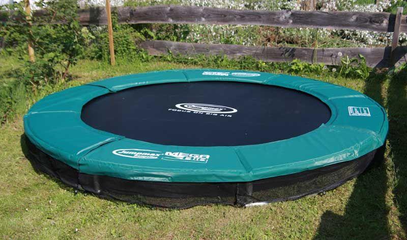 jumpmax megaair bodentrampolin 430 cm trampoline von jumpmax g nstige riesentrampoline. Black Bedroom Furniture Sets. Home Design Ideas