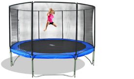Trampolin Set Air 370 mit Sicherheitsnetz Air 370 cm